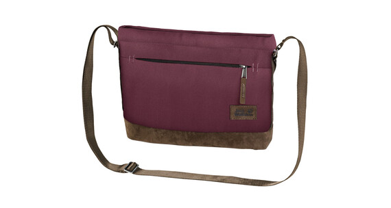 Jack Wolfskin Cocopa Shoulder Bag garnet red